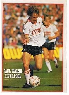 Liverpool Legends, Liverpool Players, Liverpool Football Club, Liverpool Fc, British Football, Retro Football, Football Kits, Paul Walsh, Bob Paisley