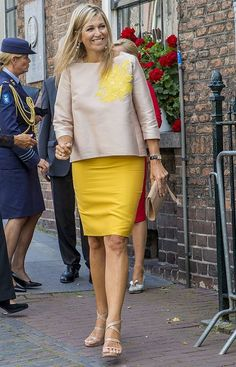 On August 24, 2017, Queen Maxima attended the 650th anniversary of Bartholomeus Gasthuis (Guest House) in Utrecht, Netherlands. The Bartholomeus gasthouse was founded in 1367 by an unknown citizen of Utrecht as shelter for pilgrims and