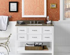 One of our most popular - the Newcastle vanity