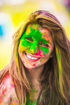 Holi Festival of Colors, Holi Festival Of Colours, Holi Colors, Holi Girls, Holi Pictures, Body Painting, Holi Photo, Hawk Photos, Holi Special, Hindu Festivals