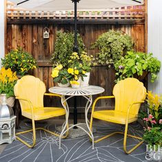 Beautify your backyard on the cheap with these simple ideas!