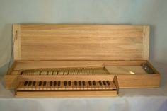 Clavichord | The clavichord is also a European stringed-keyboard instrument. Its ...