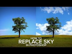 How to Replace a Sky Easily in Photoshop Sky Photoshop, Photoshop Help, Photoshop Youtube, Photoshop Photos, Photoshop Photography, Photoshop Tutorial, Light Photography, Pictures, Lightning