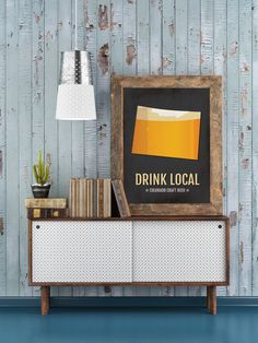 Colorado Beer Print Map - CO Drink Local Craft Beer Sign - Boyfriend Gift, Fathers Day Gift, Beer Gift, Beer Art, Denver,Boulder Poster