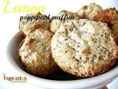 Wholesome Chow Lemon Poppyseed Muffin review vegetarianmamma.com