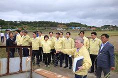 전남도의회 농림해양수산위원회, 섬 지역 가뭄 현장 방문