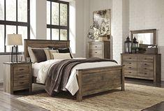 Rustic Plank Bedroom