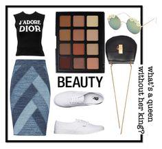 """gotta get this"" by soidi-illis ❤ liked on Polyvore featuring BCBGMAXAZRIA, Christian Dior, Vans, Morphe, Full Tilt and Chloé"