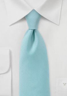 Aqua Blue Mens Tie with Texture for $14.90