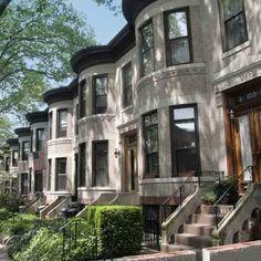 Brooklyn NY neigborhood homes | row of houses in Bay Ridge, Brooklyn, New York