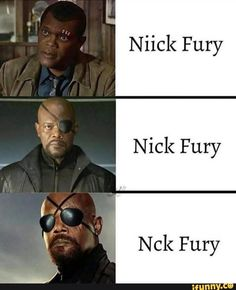marvel memes Niick Fury Nick Fury ch Fury p - memes Avengers Humor, Marvel Jokes, Marvel Avengers, Funny Marvel Memes, Marvel Films, Dc Memes, Marvel Heroes, Marvel Cinematic, Nick Fury Marvel