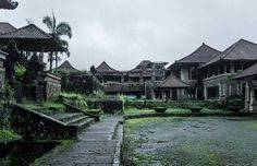 Ghost Palace Hotel – Baturiti, Indonesia | Atlas Obscura - An abandoned hotel in the highlands of Bali is shrouded in stories of ghosts, curses, and corruption.