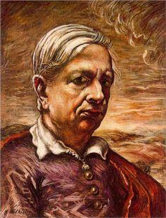 Giorgio de Chirico (1888 - 1978) | Neo-baroque | Self Portrait