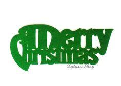 Merry Christmas door mat. Holidays decoration. Christmas ornament. Custom doormat..
