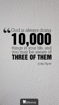 wise words from John Piper