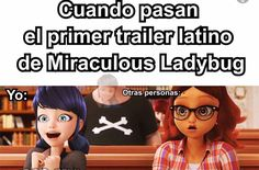 Read from the story Memes de miraculous ladybug by with reads. Ladybug Y Cat Noir, Miraclous Ladybug, Lady Bob, Carmen Sandiego, Adrien Y Marinette, Miraculous Ladybug Memes, When Things Go Wrong, Mlb, Family Guy