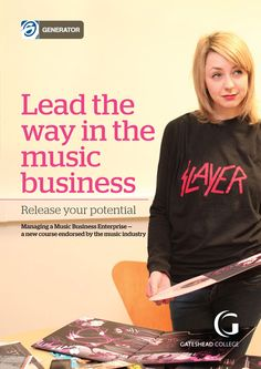Managing a Music Business Enterprise (MMBE) is a new qualification that delivers the skills and knowledge essential to running a successful music business.