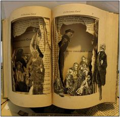 Altered Books Sculptures by Susan Hoerth