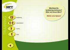 Coordination and balance training app - MFT Challenge Disc App, Challenges, Chart, Apps