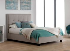 Evert Fabric Bed Frame | Dreams