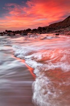 Coral Sunset