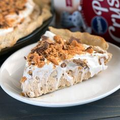 Easy+Butterfinger+Pie+@keyingredient+#cheese+#pie+#easy+#peanutbutter