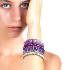 Ziio Bracelet Monocromo violet