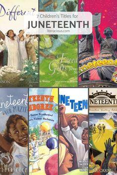 7 Children's Titles for Juneteenth