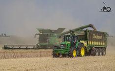 Foto John Deere Meerdere van Http://www. John Deere Equipment, Heavy Equipment, Tractor Pictures, Combine Harvester, Van, Trucks, Farms, Vehicles, Agriculture