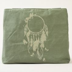 Native American Dreamcatcher Canvas Tote