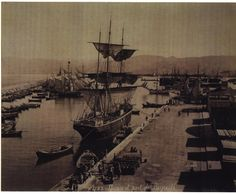 Beirut Port [1870] | Copyright Bonfils | Submitted by Marwan Sleiman