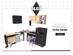 Sims 4 CC's - The Best: Kitchen by Slox