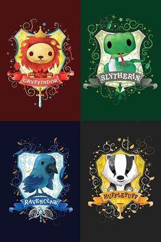 Harry Potter Tumblr, Harry Potter Fan Art, Fans D'harry Potter, Harry Potter Cartoon, Mundo Harry Potter, Harry Potter Drawings, Harry Potter Houses, Harry Potter Pictures, Harry Potter Characters