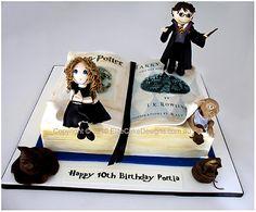 Nv 127 Harry Potter Novelty Birthday Cake cakepins.com