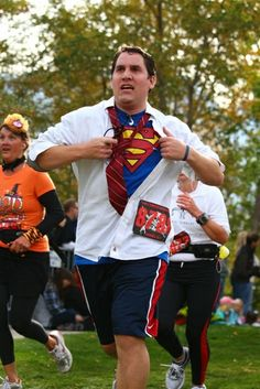 """I like this idea for a """"Superheros 5K"""" race I'm doing in April."""