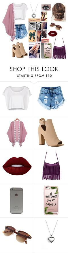 """Untitled #607"" by skh-siera18 ❤ liked on Polyvore featuring American Apparel, Lime Crime, Disney, Casetify and Pandora"