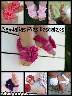 sandalias pies descalzos para bebe - Buscar con Google