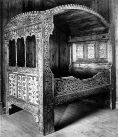 late 16th century style oak four poster bed designed by nicholas berry using elements from. Black Bedroom Furniture Sets. Home Design Ideas