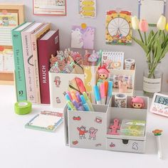 Get awesome stationery and gifts by visiting link in bio or go to www.otriostationery.com 💖 Free shipping to all countries! ✉️ For credit/copyright issue, please email us 🌈 #stationery #pens #organizer #organizers #kawaiistuff #kawaiilife #kawaiilifestyle Book Stationery, School Stationery, Stationary, Book Holder Stand, Kind Reminder, Desktop Organization, Drawer Organisers, Free Stickers, Desk Accessories