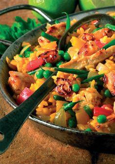 Quorn Vegetable Paella Recipe: Cook Vegetarian Magazine