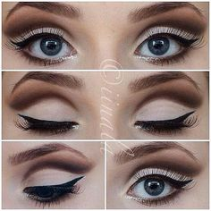Love this look, so badly need to perfect my liquid eyeliner skills