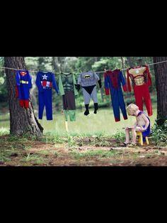 Colada de superhéroes