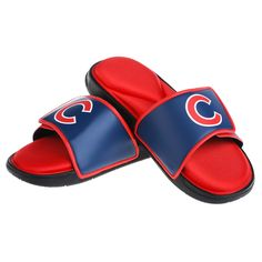130446e8b0b Chicago Cubs Logo Sandals  ChicagoCubs  Cubs  FlyTheW  MLB  ThatsCub  Chicago Cubs