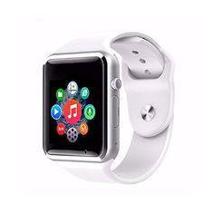 AGPtEK Bluetooth Smart Watch for Android Cellphones Samsung S5 S6 Note 4 Note 5 HTC Sony LG and iPhone 5 (White) >>> Read more reviews of the product by visiting the link on the image.