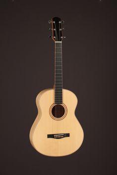 Guitare de Simon Cassista-Proulx, École nationale de lutherie, 2014