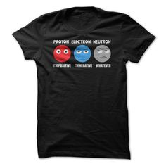 Funny Atom Science T Shirt | Subatomic particles - chemistry humor | Buy at https://www.sunfrog.com/Funny-Atom-Science-T-Shirt.html?6987