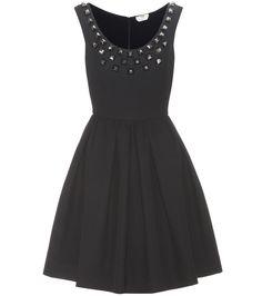 Fendi - Embellished cotton dress | mytheresa.com