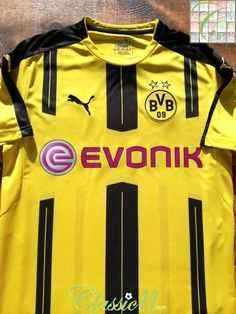 21e80acc5 2016 17 Borussia Dortmund Home Football Shirt (S)