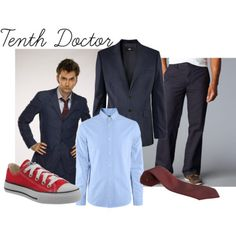 The Tenth Doctor Dockers Flat-Front Soft Khaki...