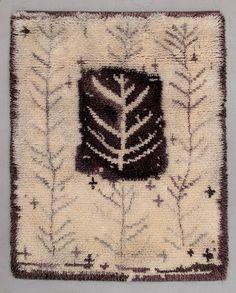 Rya Rug, Wool Rug, Scandinavian Embroidery, Scandinavian Cottage, Unique Rugs, Rugs On Carpet, Carpets, Penny Rugs, Swedish Design